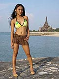 Asian solo model Tailynn posing in exotic Thailand from Tailynn