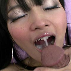 Tiny Teen With Braces Sucks And Fucks Then Gets A Cum Blast In The Mouth - Picture 15